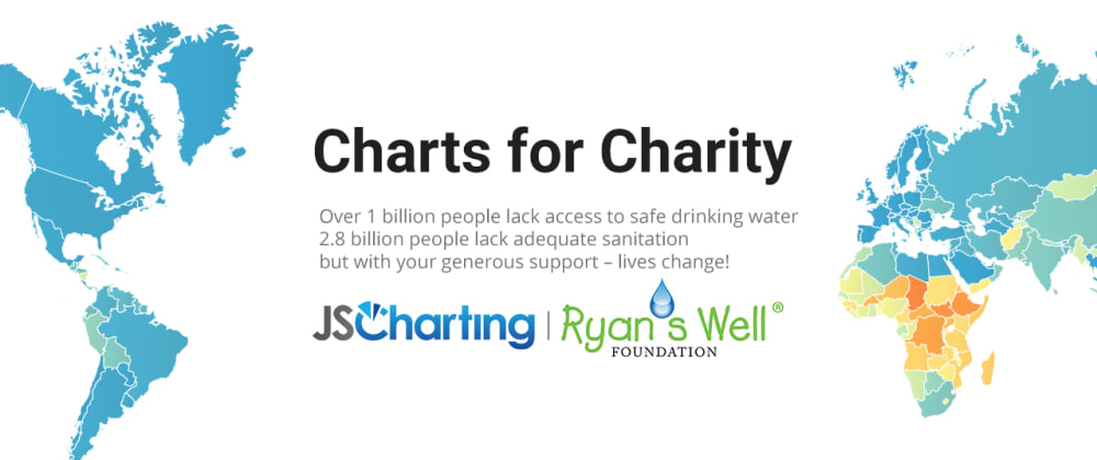 Cover image for Charts for Charity: Pay What You Want for JSCharting with 100% of proceeds donated!