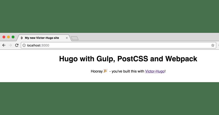 victor-hugo homepage
