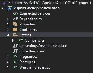 Asp.Net 5 Web API