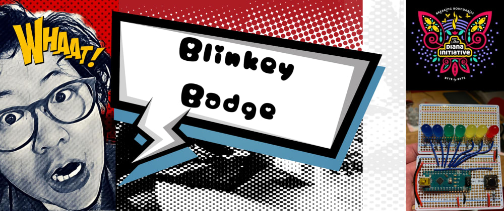 Cover image for Diana Initiative Blinky Badge Workshop