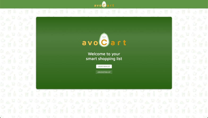 AvoCart Home Page