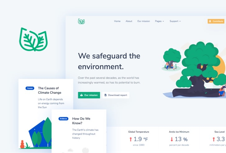 NGO Bootstrap Template