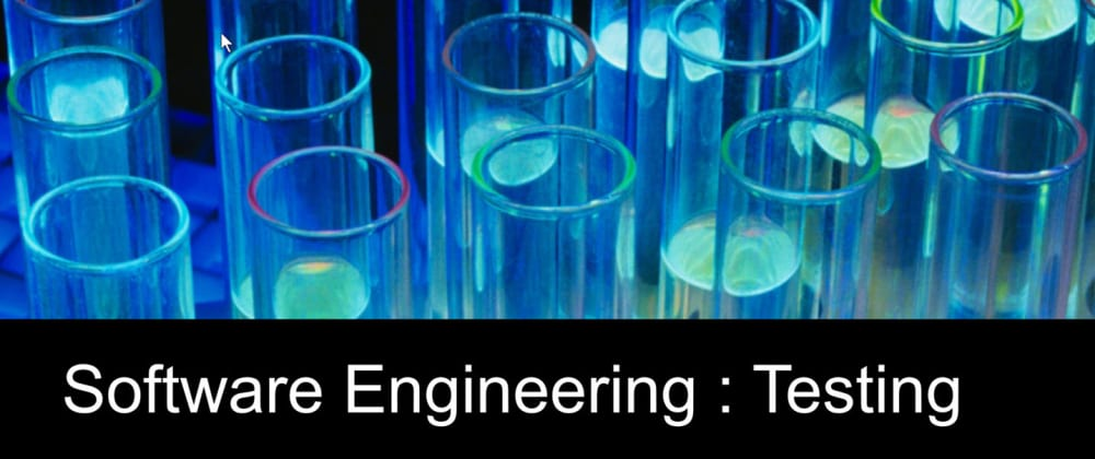 Cover image for Software Engineering : Testing