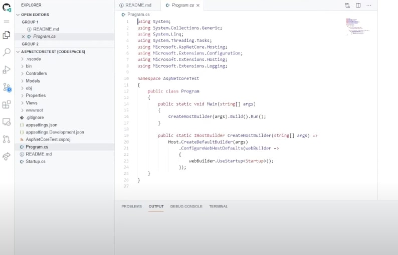 GitHub Codespaces theme