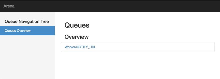 Screenshot of Arena in browser