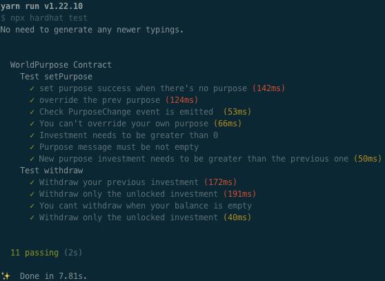 Run tests locally