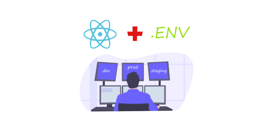 React — Environment specific builds using .env with CRA and env-cmd