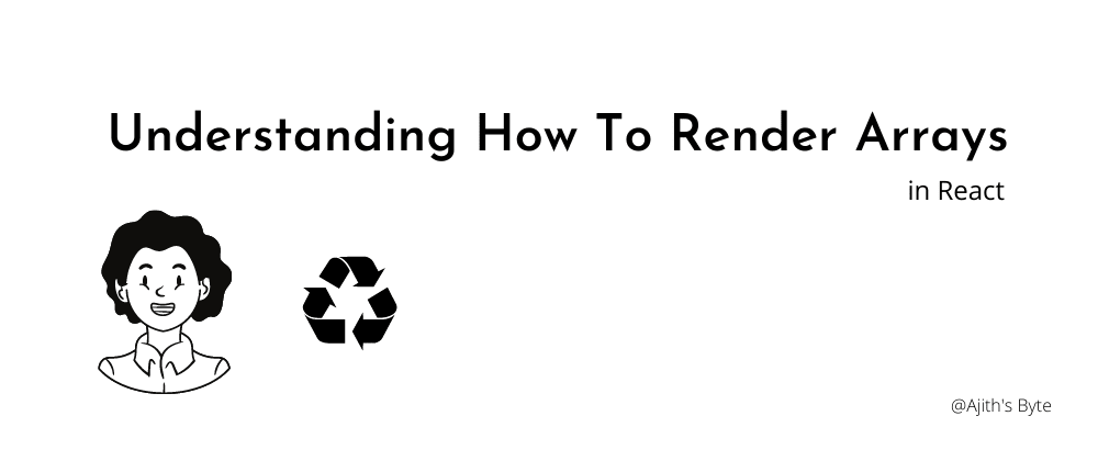 Cover image for Rendering Arrays in React
