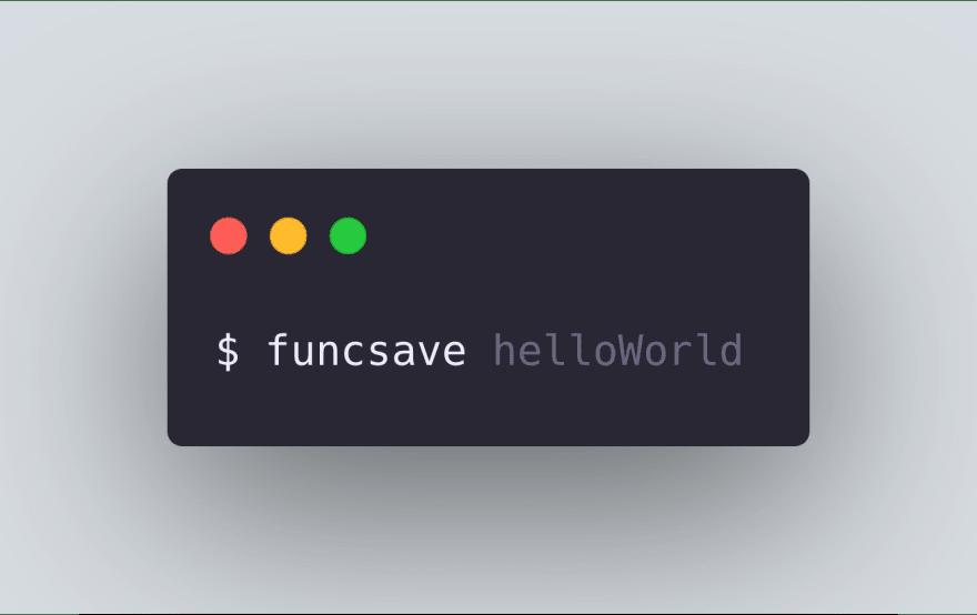 Saving a function