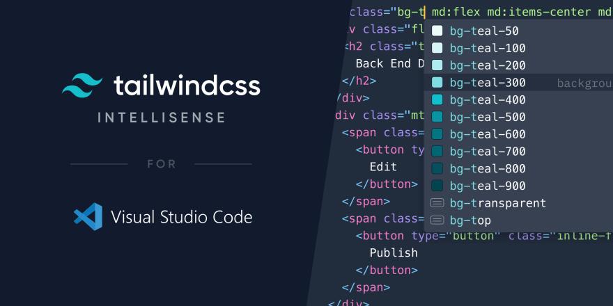 Tailwind CSS IntelliSense