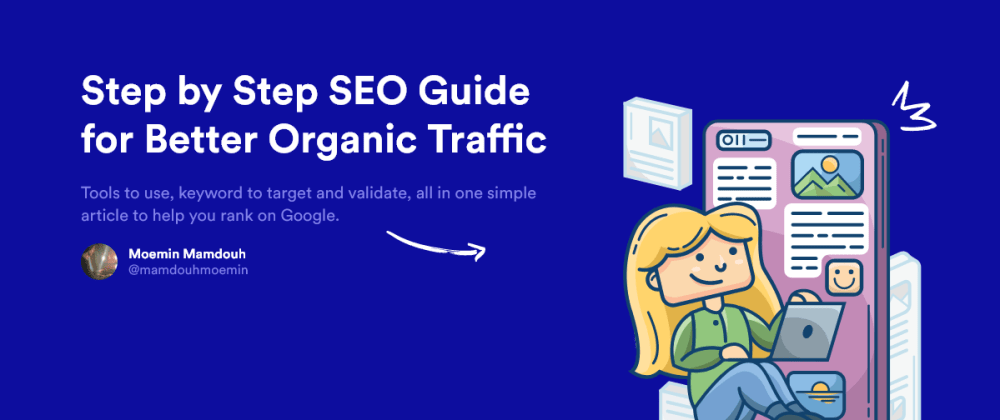 Cover image for Step by Step PRACTICAL SEO Guide for Better Organic Traffic