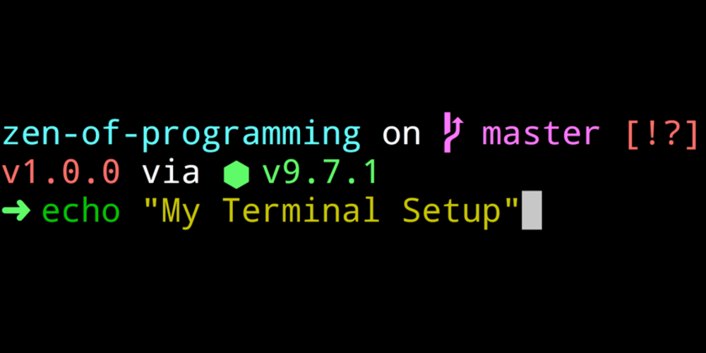 Discussion of My Terminal Setup: iTerm2 + Zsh 🔥 — DEV
