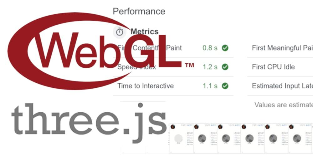 Faster WebGL/Three js 3D graphics with OffscreenCanvas and Web