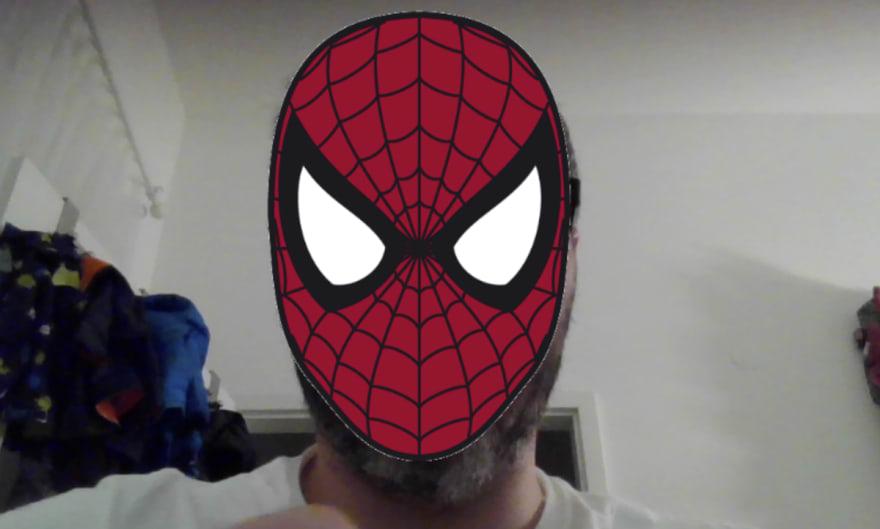 Spiderman Mask Filter
