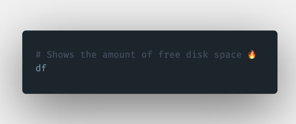 Cover image for How to see the free disk space in Linux?