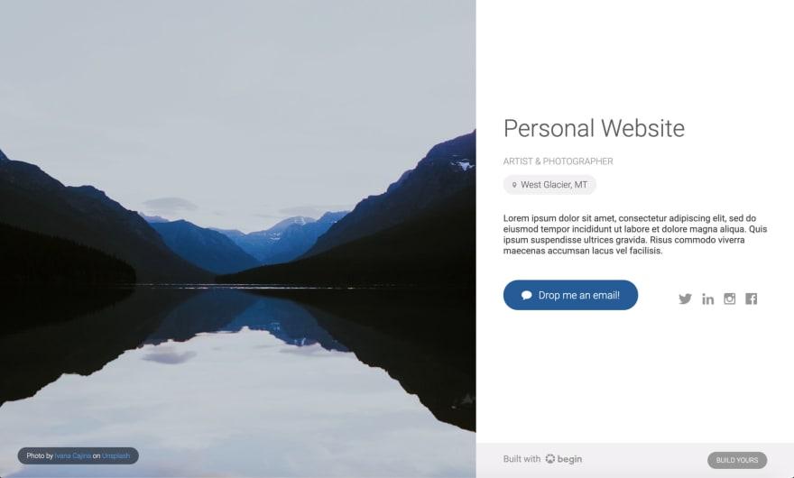 begin-personal-site