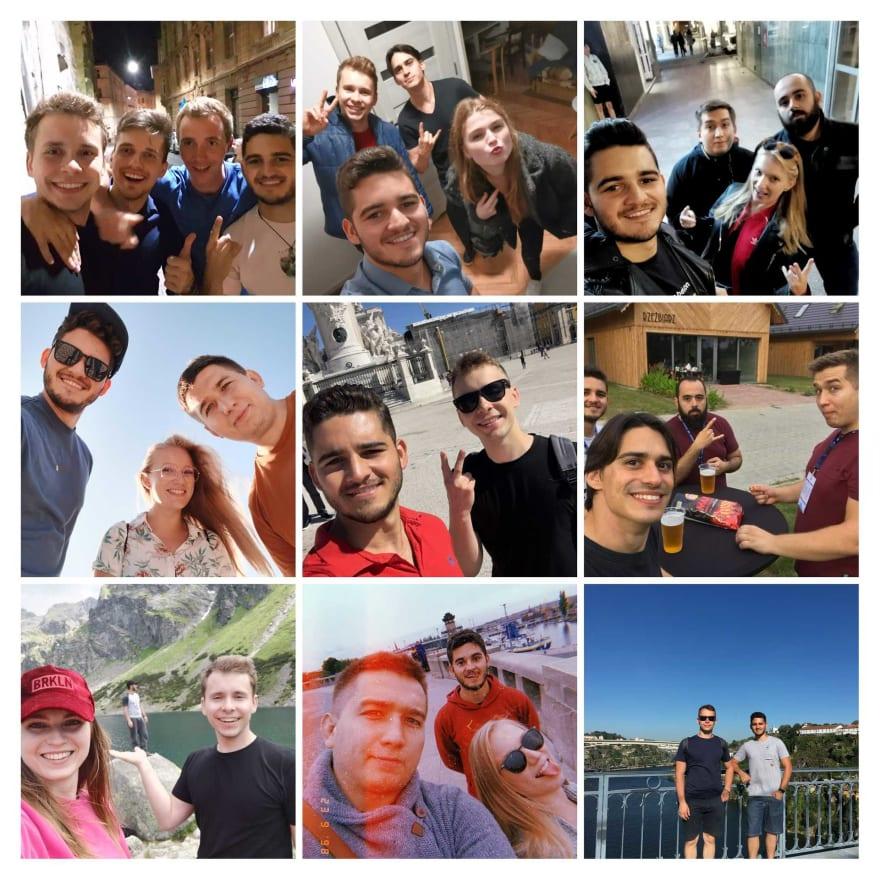 Friends Collage