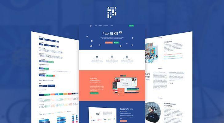 Pixel Pro Bootstrap 4 UI Kit