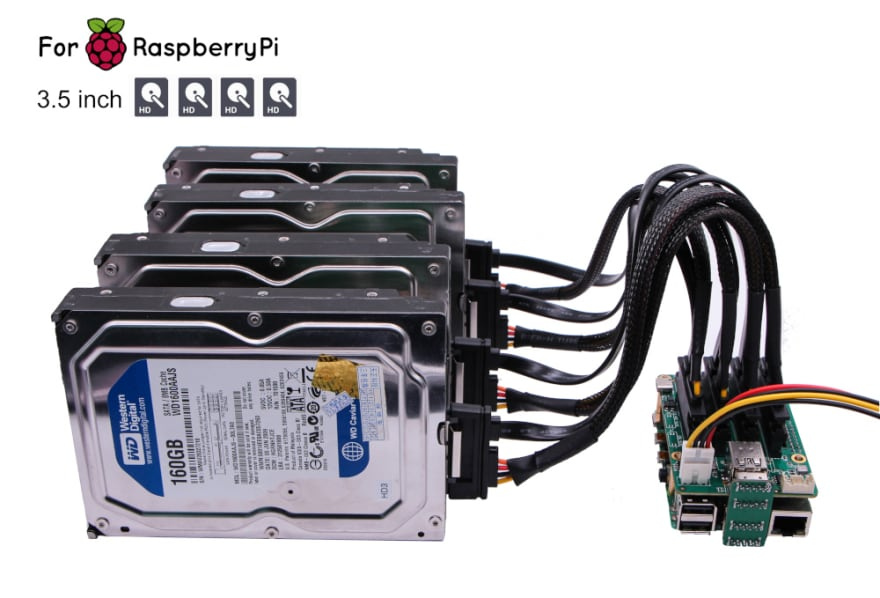 Rock Pi Quad SATA