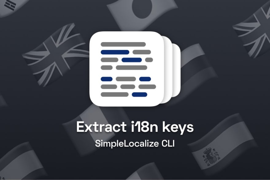simplelocalize i18n extraction cli