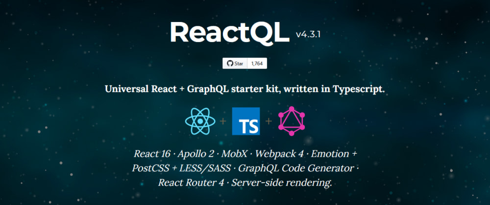 Cover image for Why using ReactQL Starter Kit for your App will save you Weeks in Development