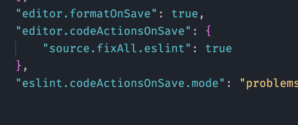 Cover image for Having trouble😫 with VS code💻  formatOnSave lately?