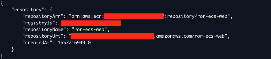 Alt Create registry output