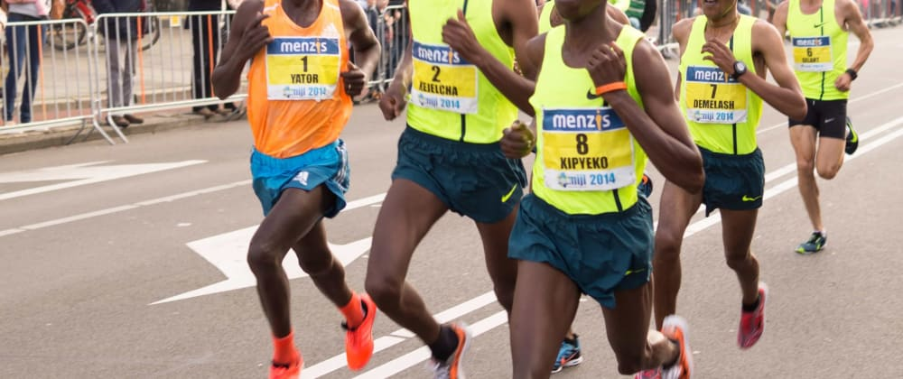 Cover image for 5 Leadership Skills for Your Development Project that I learned watching Eliud Kipchoge run