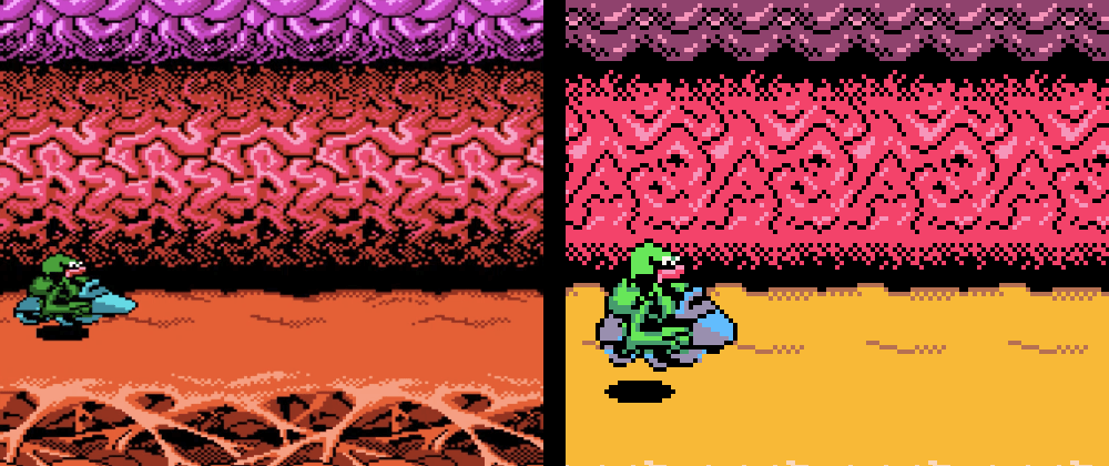 Cover image for Creating the Scrolling Background Effect from Battletoads