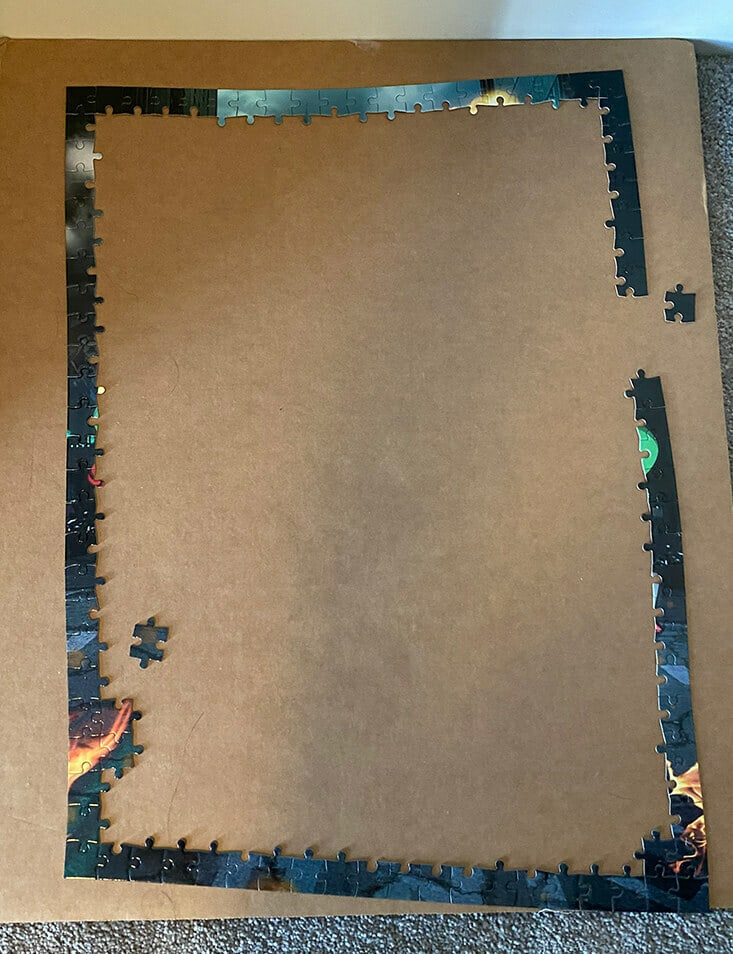 Puzzle edges