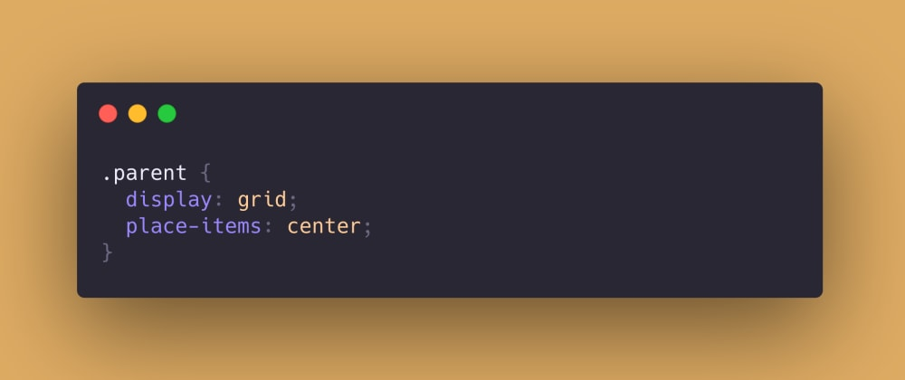 Cover image for 👋 Just a single CSS line for a perfect center layout