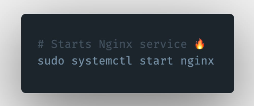 Cover image for How to start an Nginx server or service in Linux?