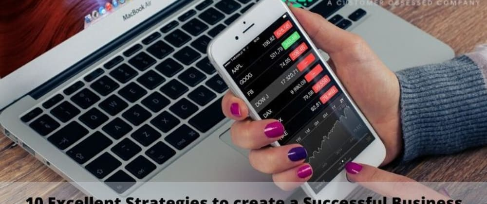 Cover image for 10 Excellent Strategies to create a Successful Business Website