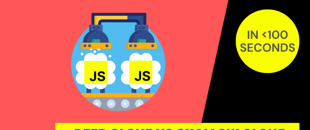 Cover image for JavaScript Object Deep Clone vs Shallow Clone. Clone JavaScript Object the right way.