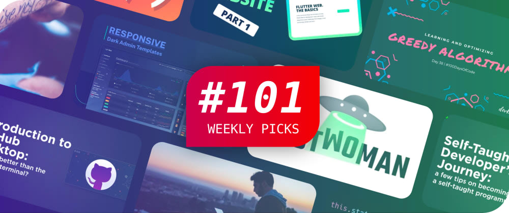 Cover image for Weekly Picks #101 — Development Posts