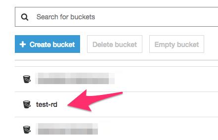 Select bucket