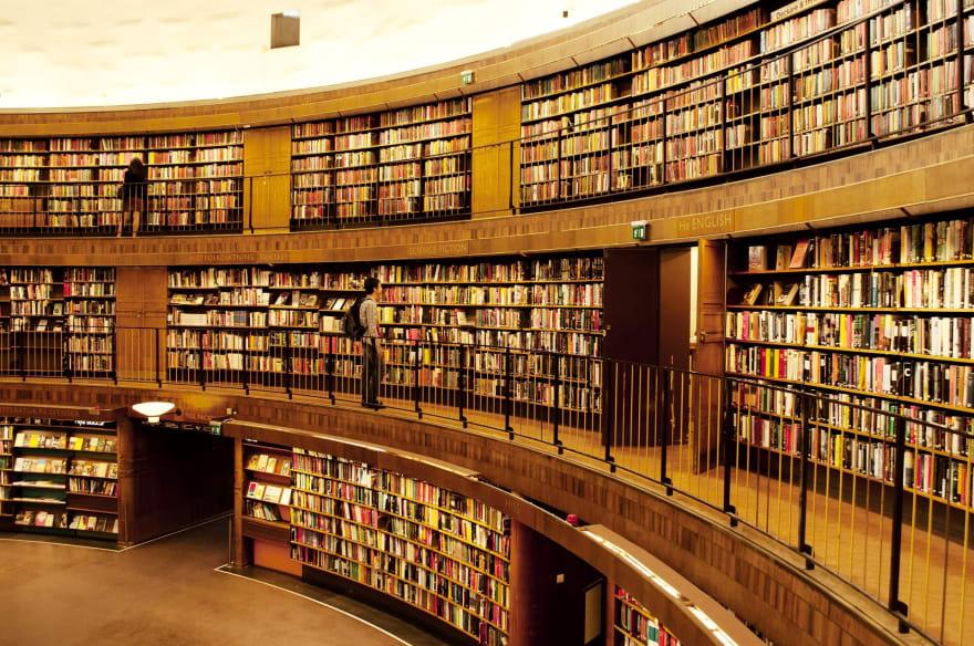Shelf Bookcase Library