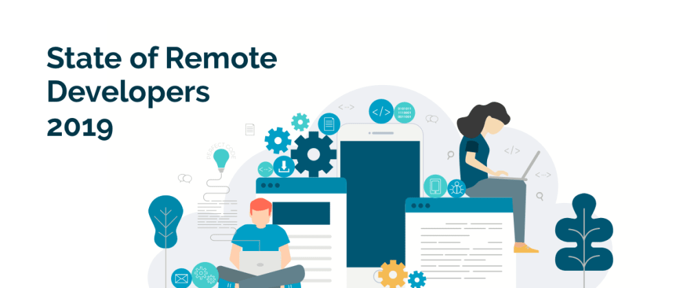 """Cover image for """"State of Remote Developers 2019"""" Survey (win an Amazon giftcard!)"""