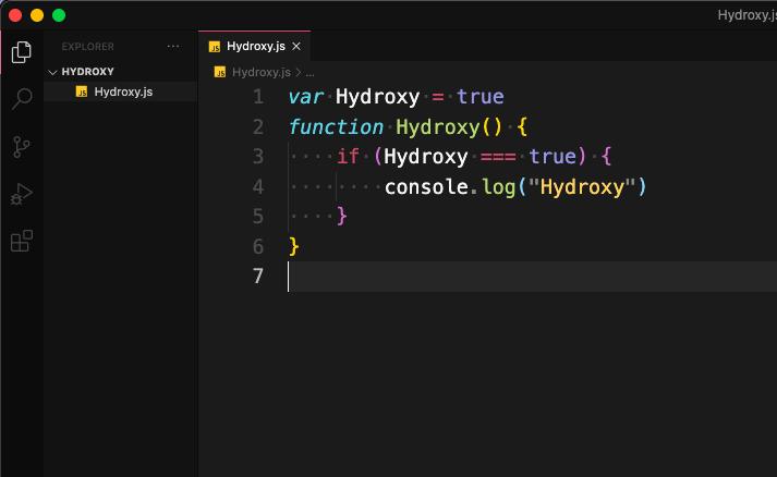 Hydroxy Screenshot