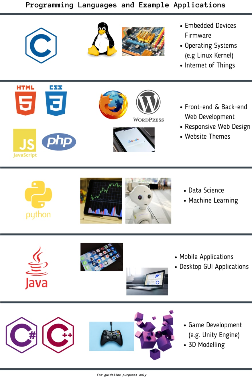 programming languages and applications