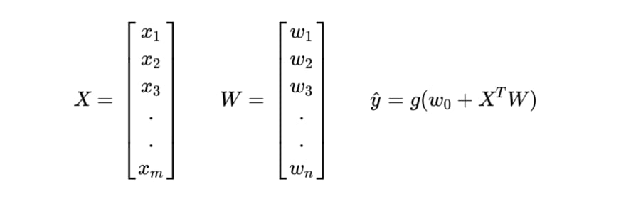 Vectorized Equations