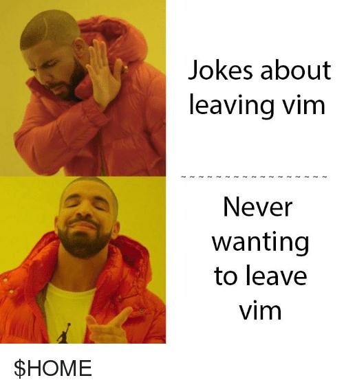 Vim Joke