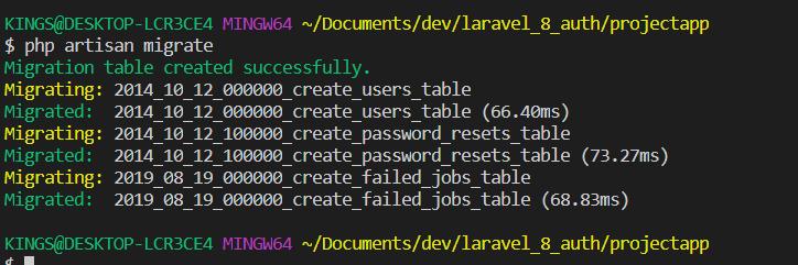 migration file