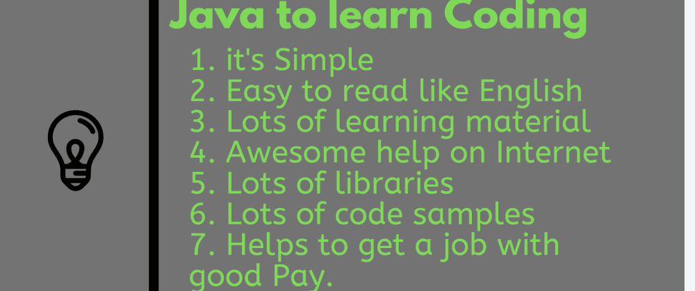 Cover image for Why Java is the best Programming language to Learn Coding for beginners?