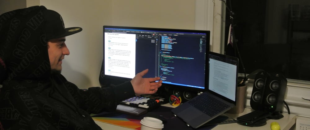 Cover image for I Talk to my Computer (how do you code a website?)