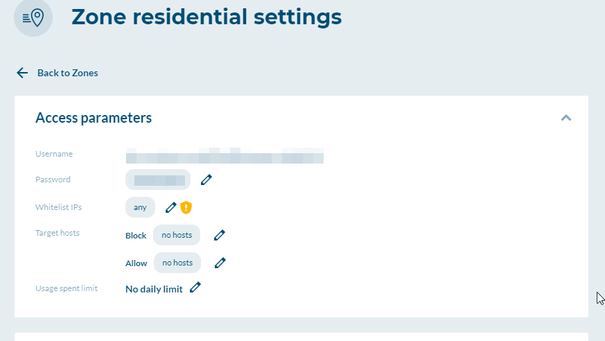 Luminati residential credentials
