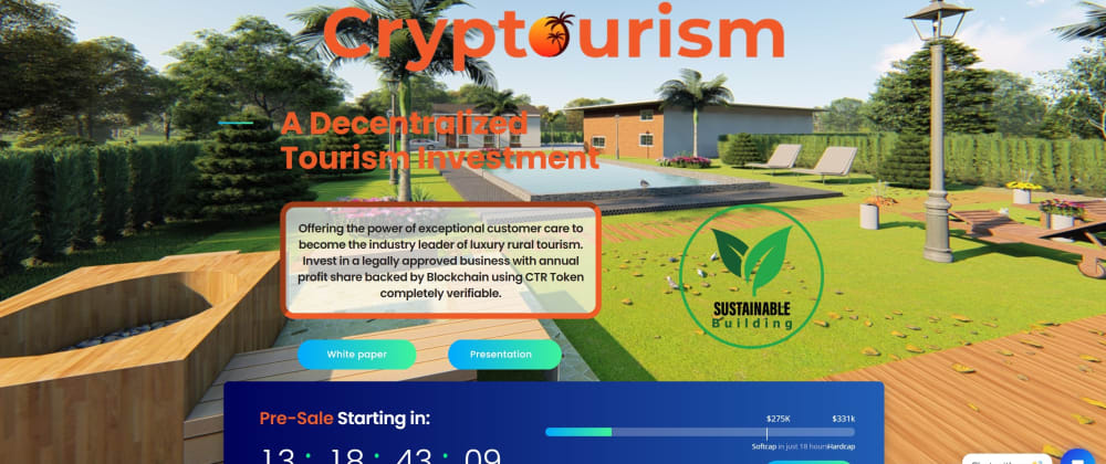 Cover image for Cryptourism.io White Paper is officially release