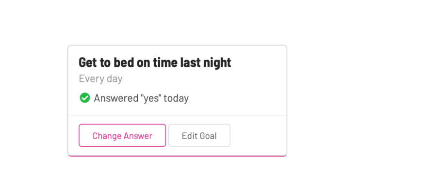 LifeKnifeX goal item answered