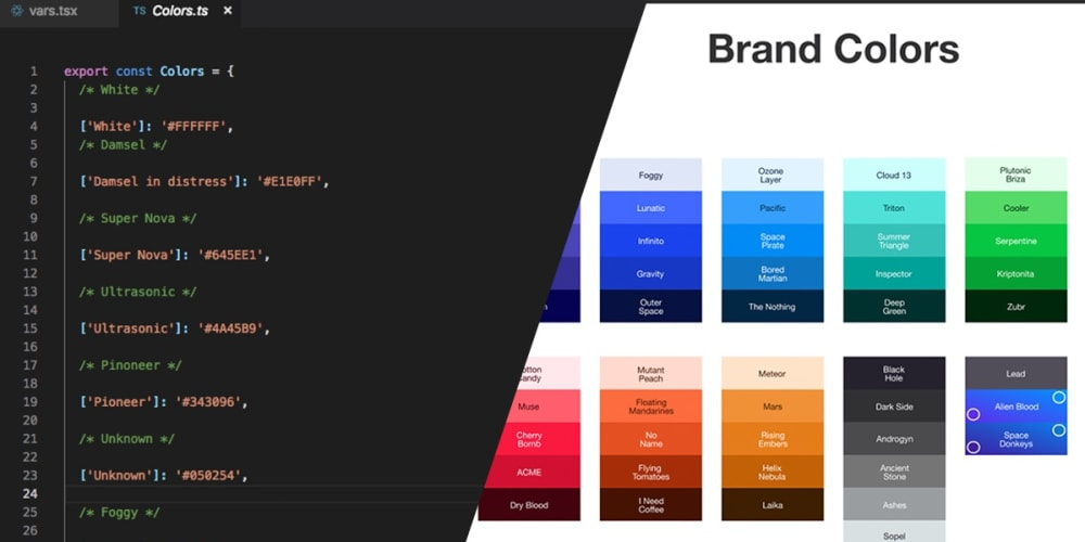 Export Color Palette from Figma to JSX - DEV Community