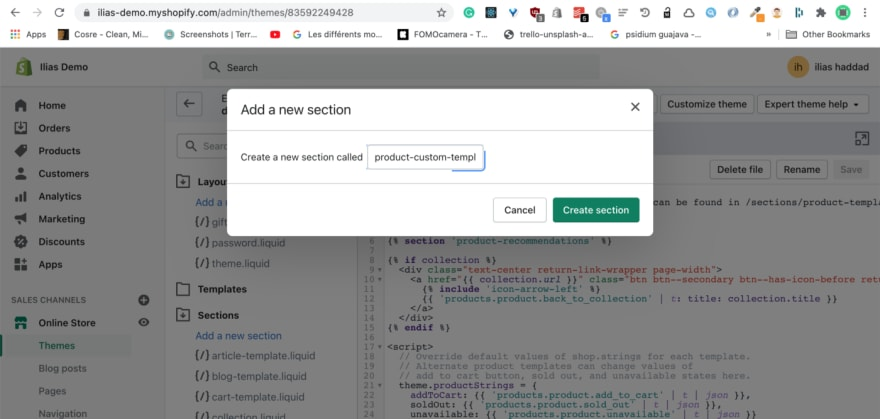 How to add custom fields to the order data in the product page